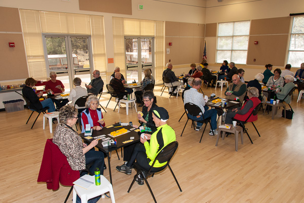 Cascade Duplicate Bridge Club Playing Area